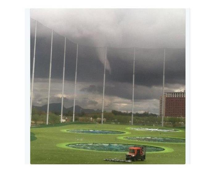 Storm Damage Cold Air Funnels